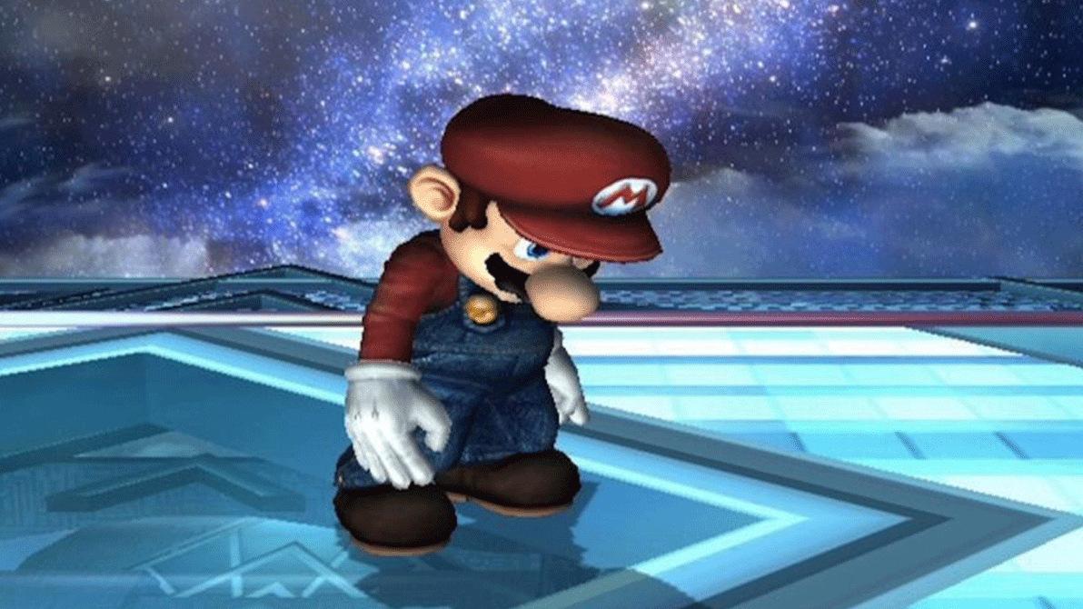 Sad Mario RIP