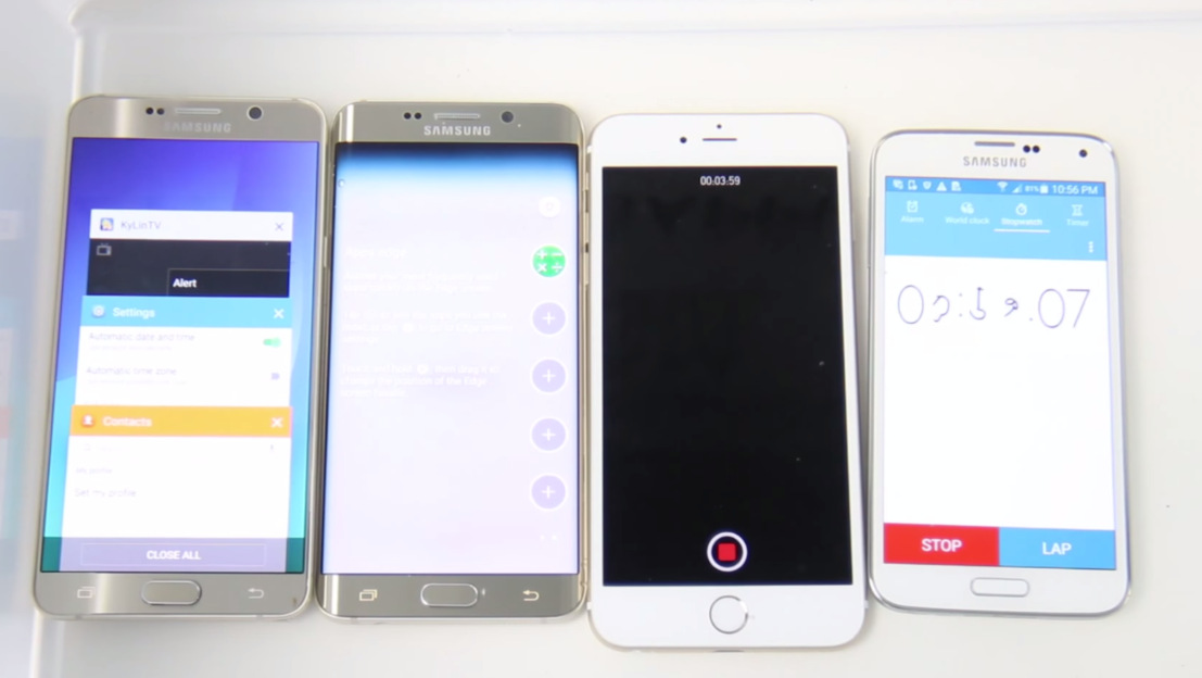 Galaxy Note 5 VS S6 Edge Plus VS iPhone 6 Plus (1)