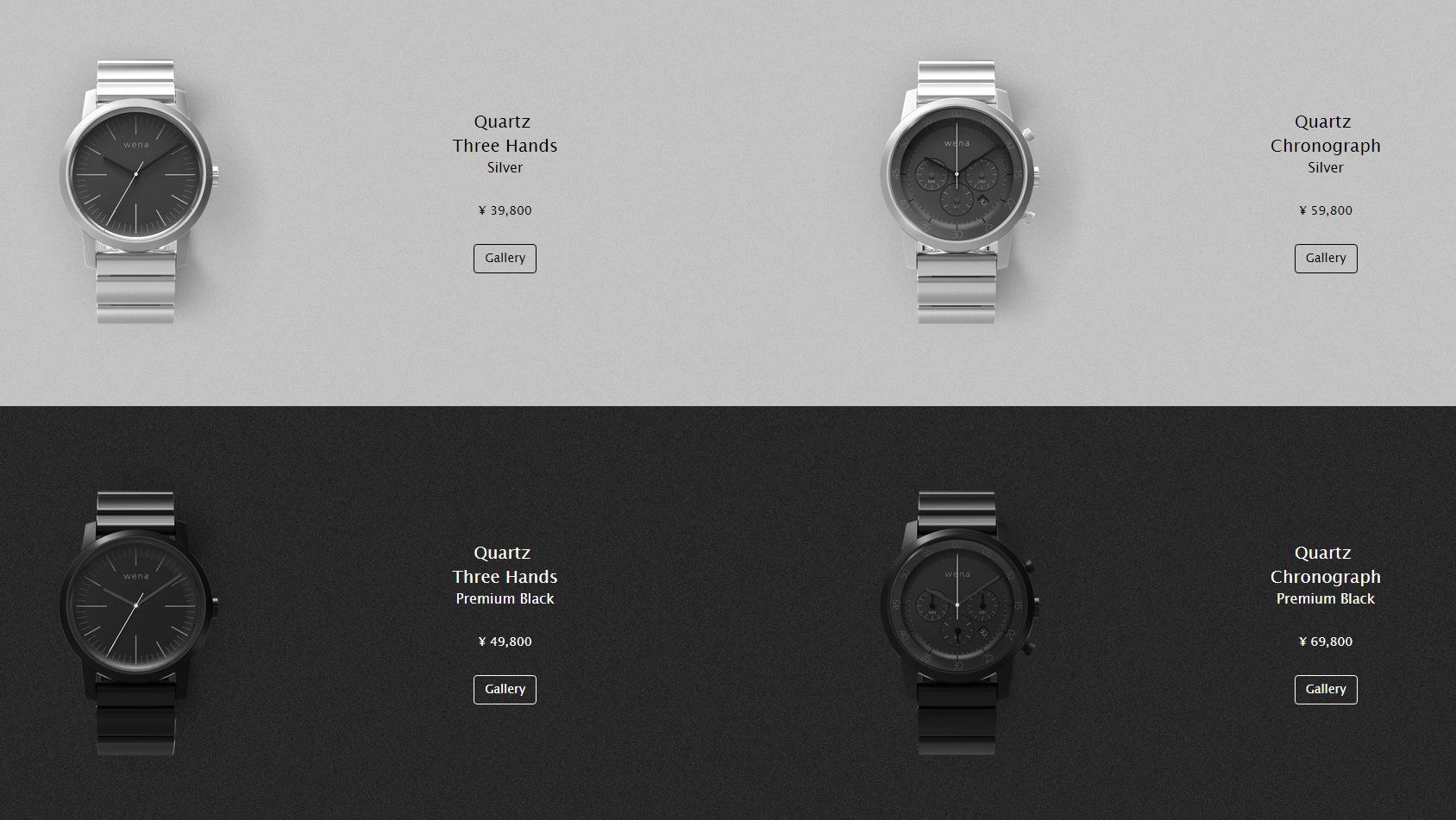 Sony smartwatch Wena (3)