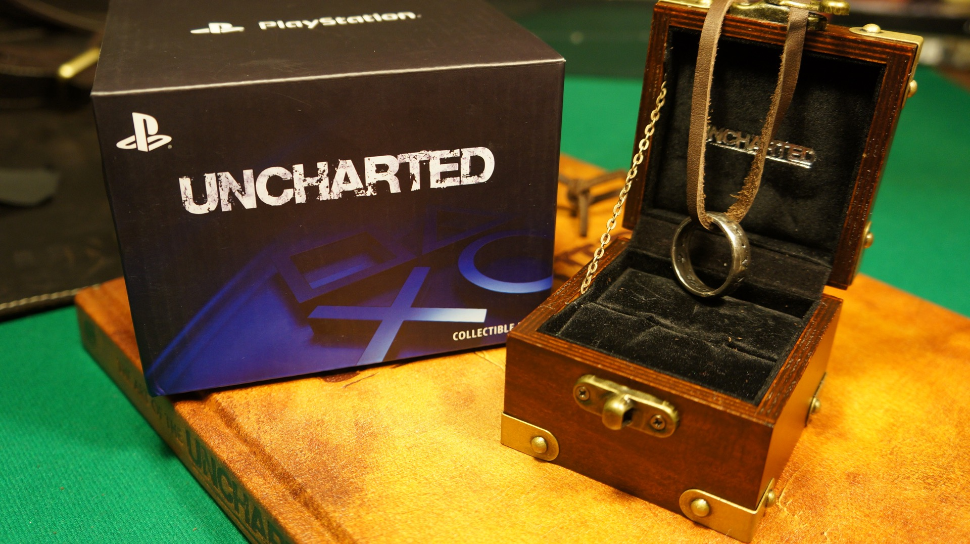 Uncharted ring anillo unboxing8