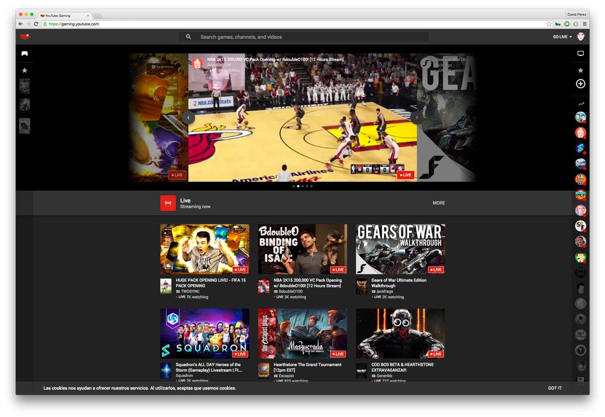 YouTube-Gaming-web