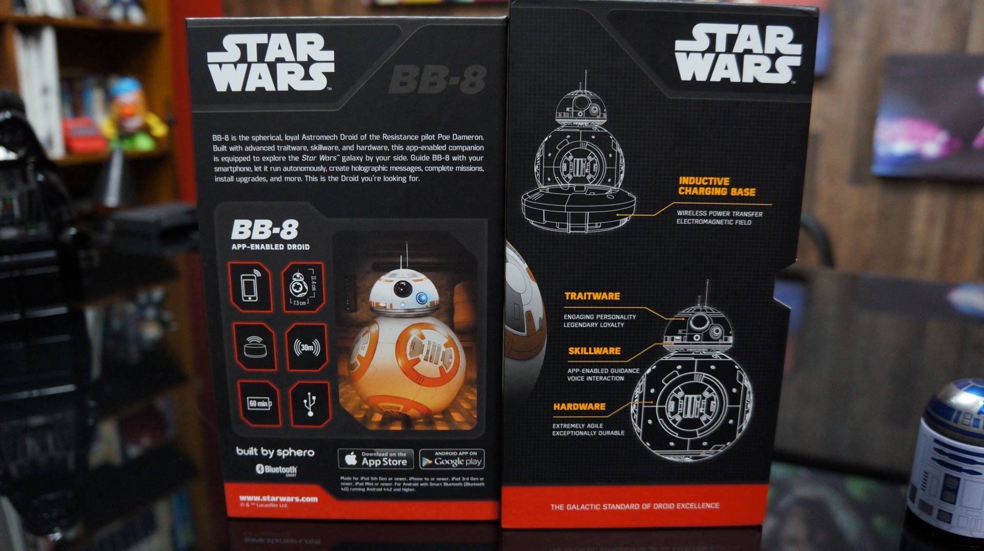 BB-8 unboxing Star Wars9