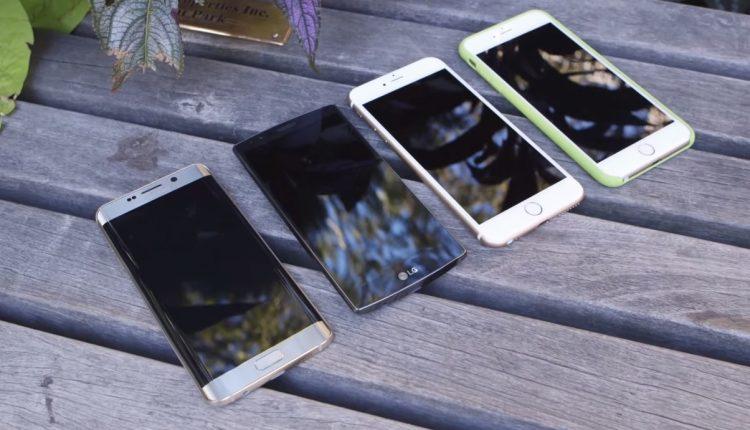 Càmara vs iphone LG Galaxy