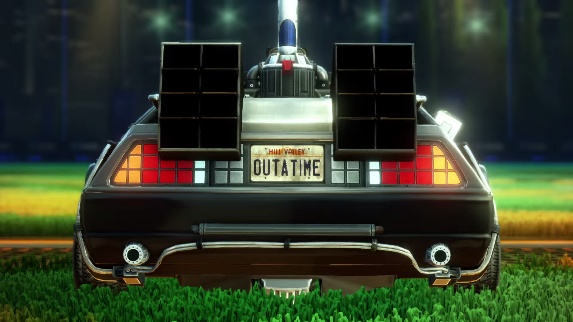 Back To The Future Rocket League (3)