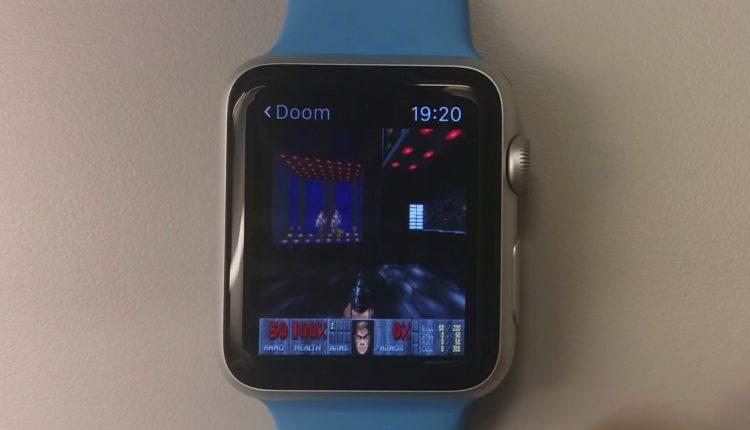 Doom apple watch