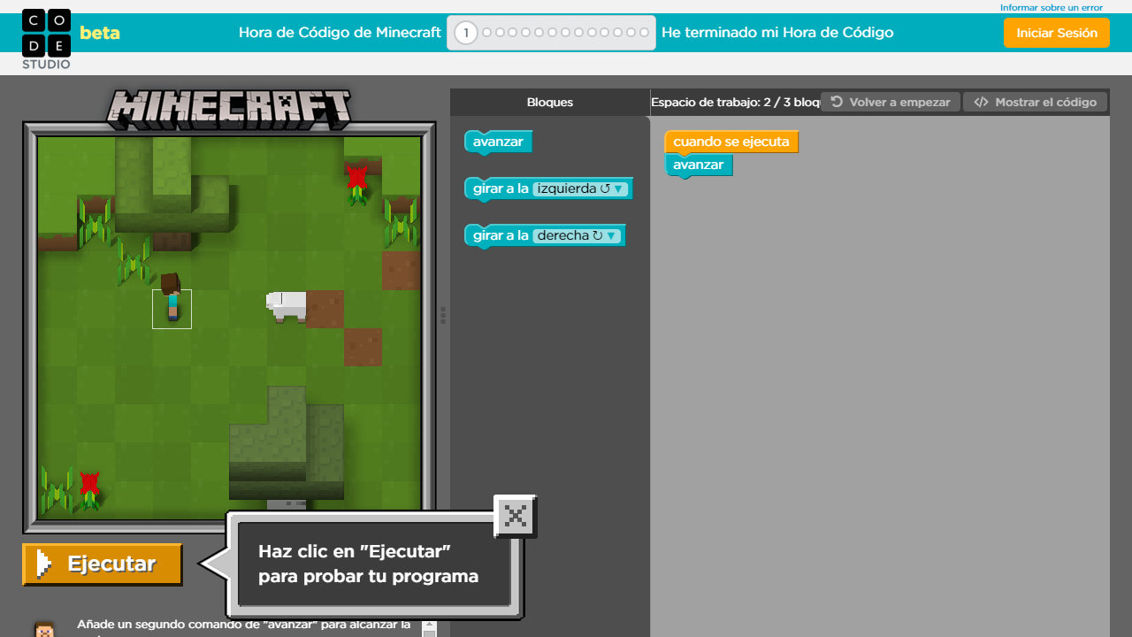 Miencraft Hour of code (2)