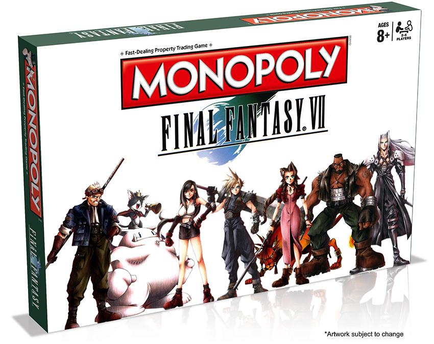 Final Fantasy VII 7 monopoly Monopolio