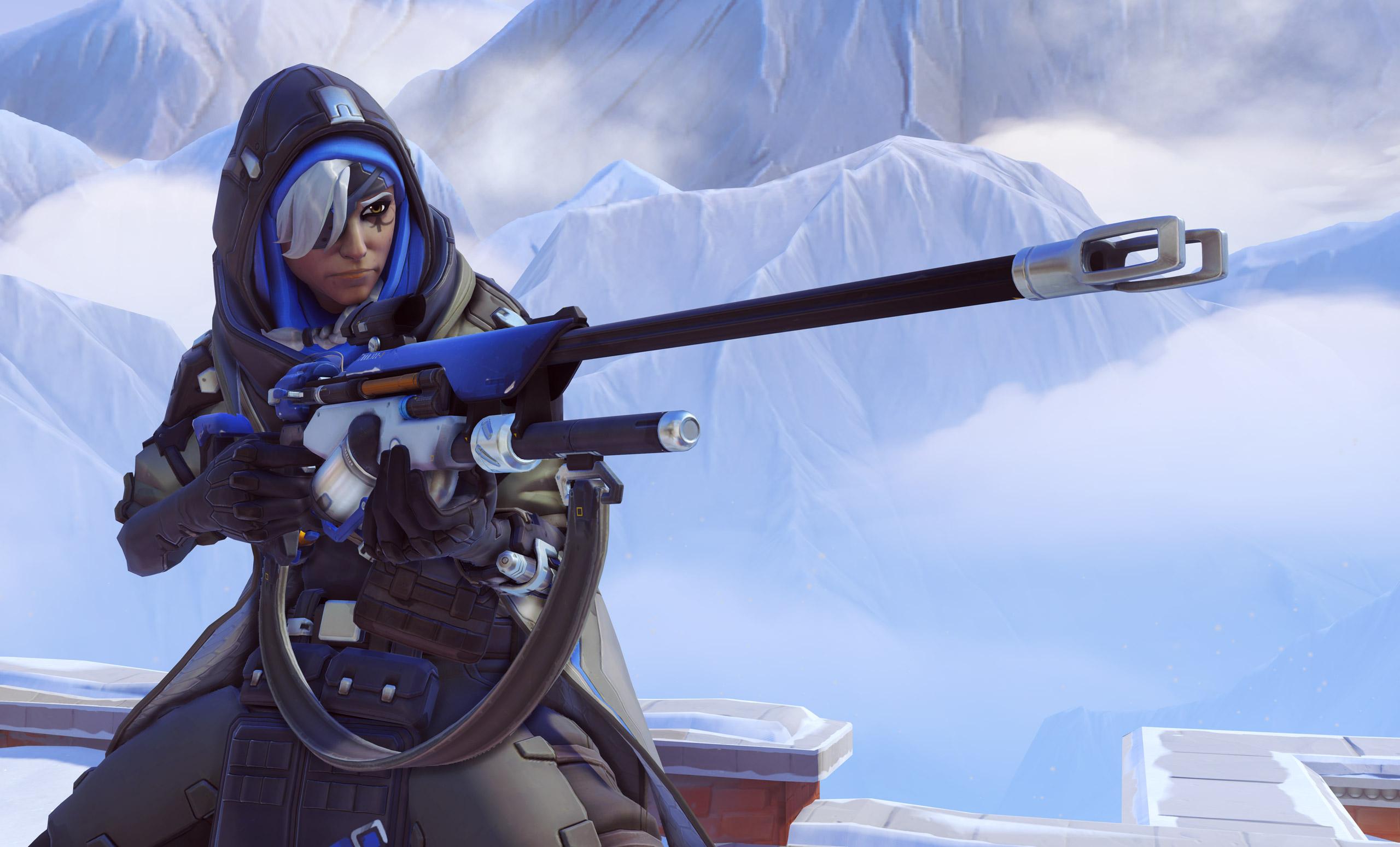 Ana Overwatch hero support3