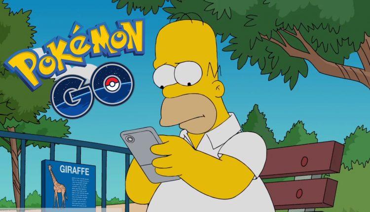 Pokemon Go Los Simpsons