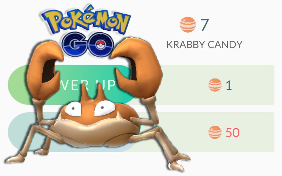 Pokemon krabby
