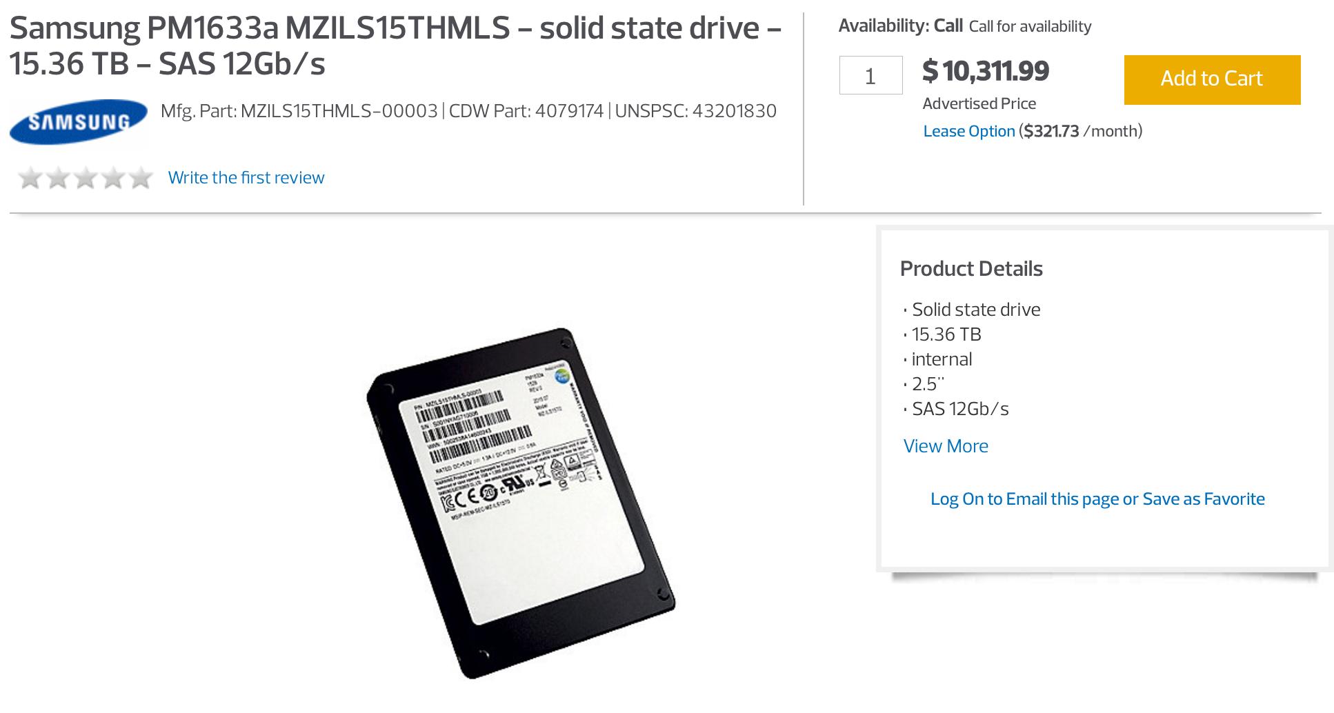 SSD Samsung 15TB2