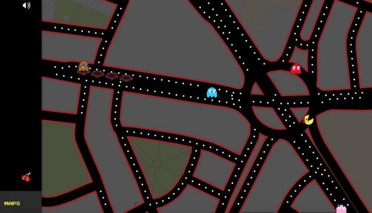 Google Maps Pac-man3