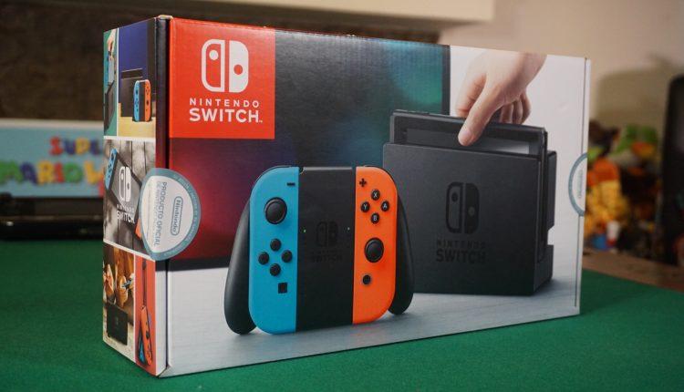 Nintendo Switch unboxing7