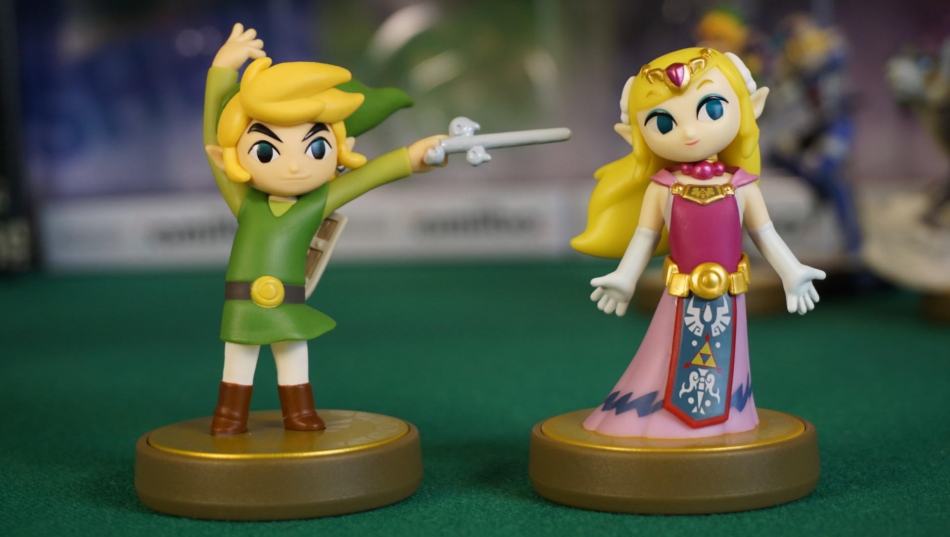 Zelda amiibo unboxing master edition15