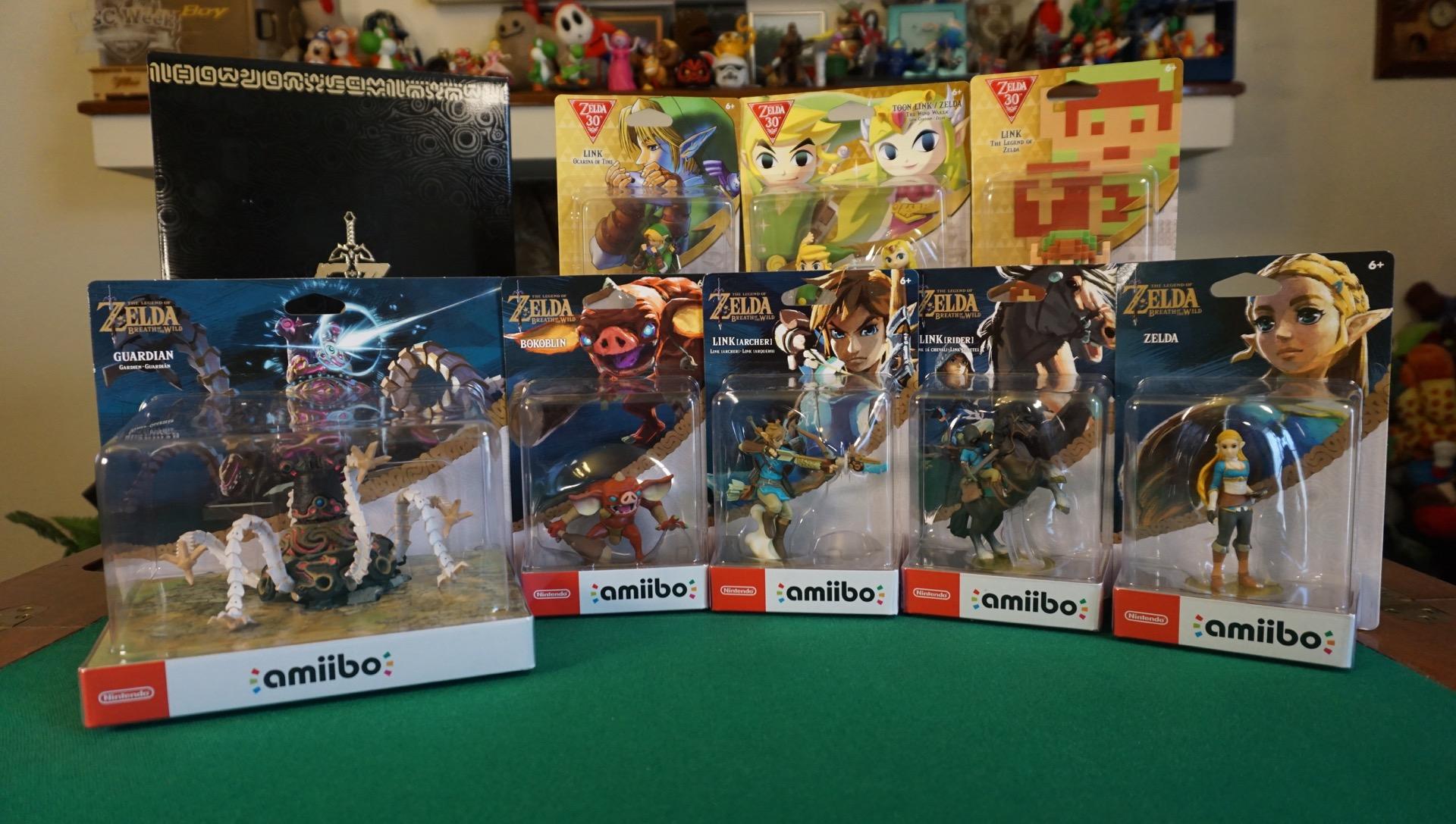 Zelda amiibo unboxing master edition2