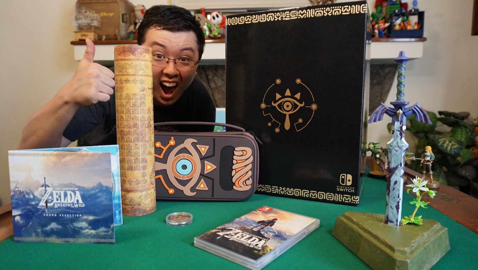 Zelda amiibo unboxing master edition26