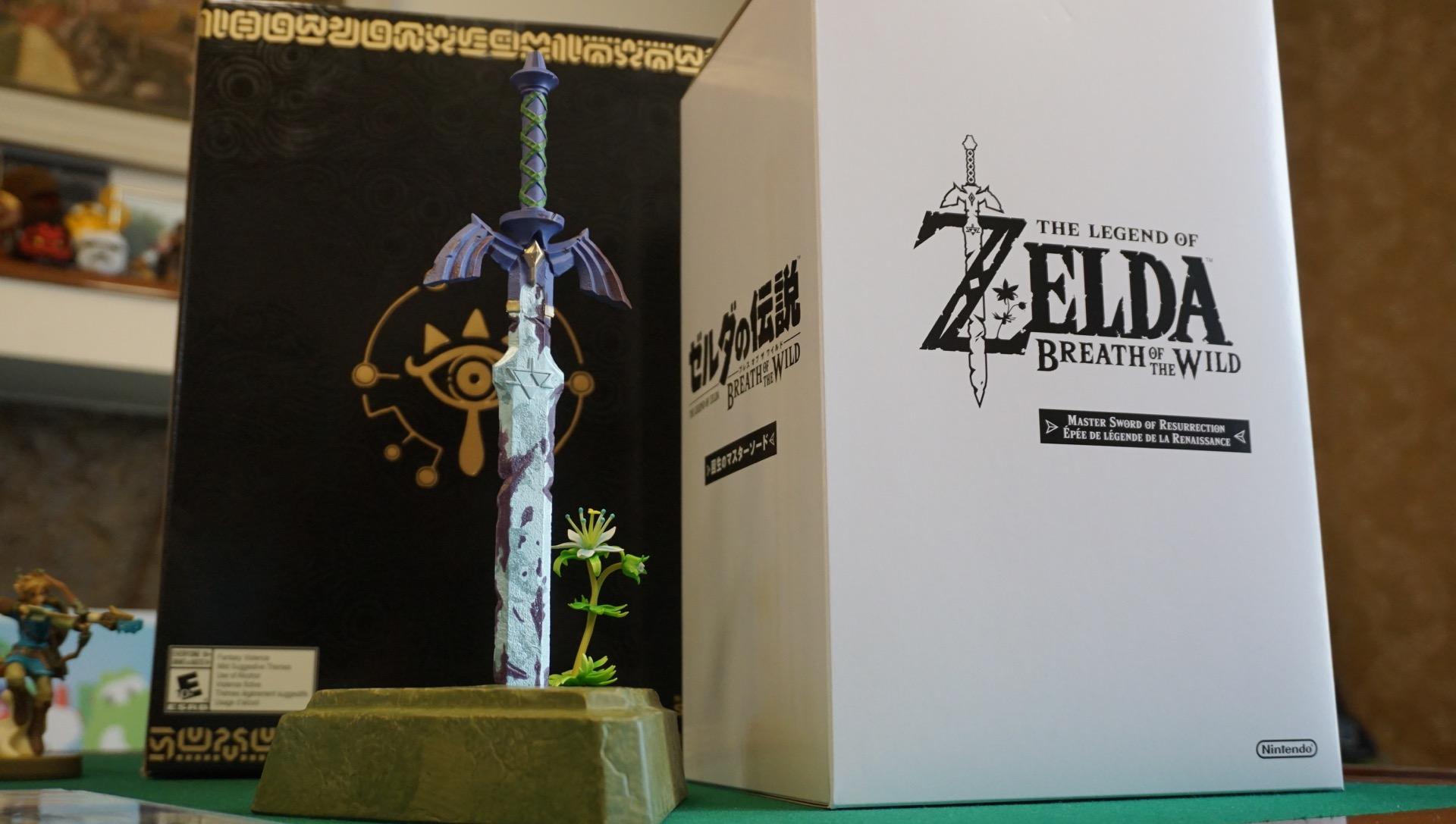 Zelda amiibo unboxing master edition27