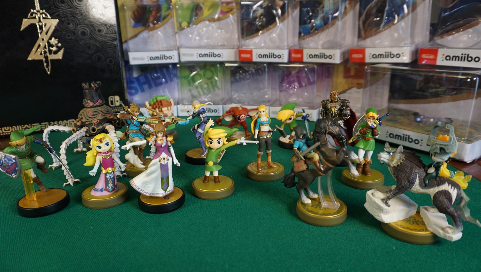 Zelda amiibo unboxing master edition3