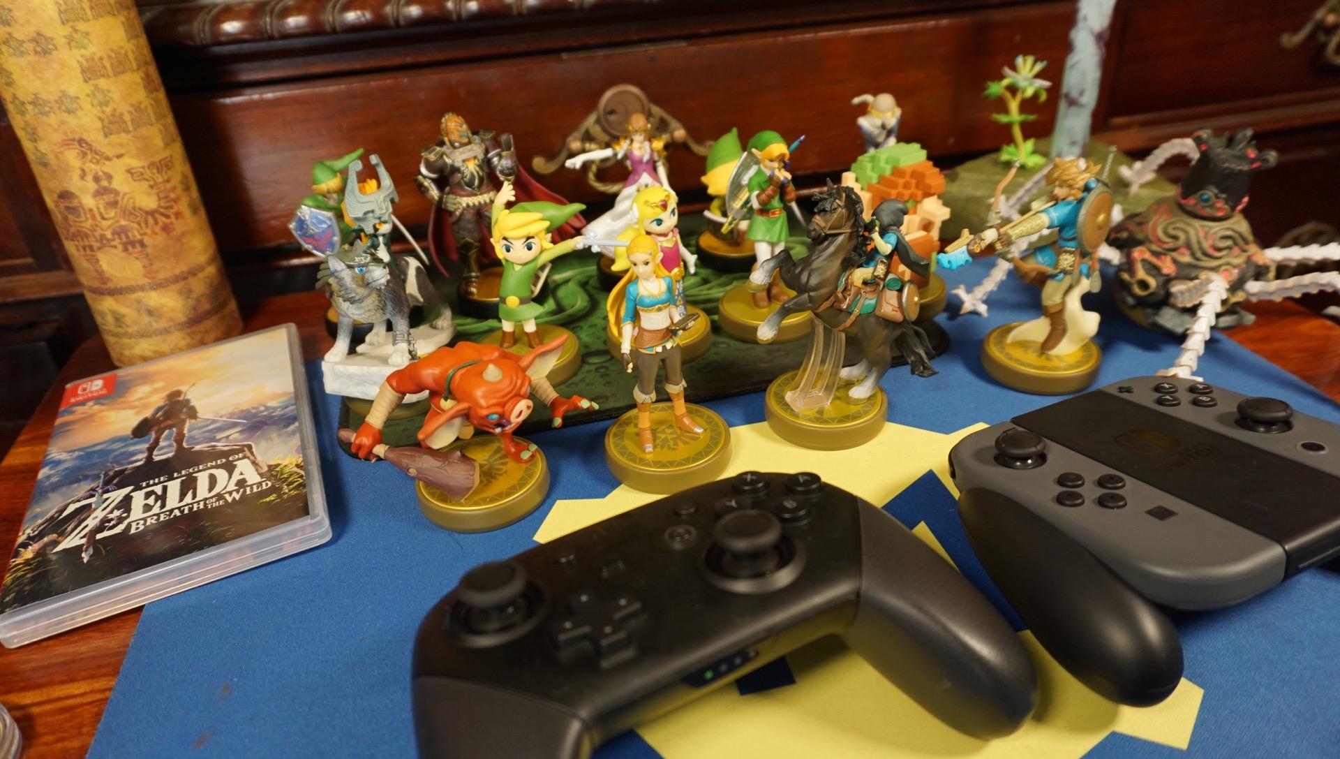Zelda amiibo unboxing master edition45
