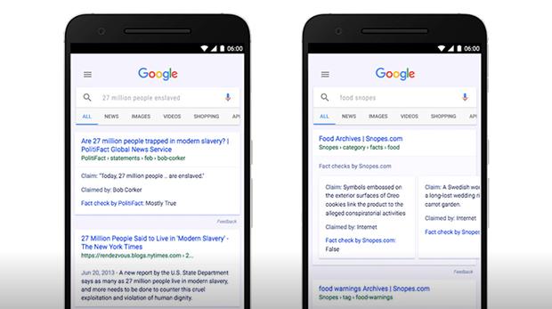 google noticias falsas celulares