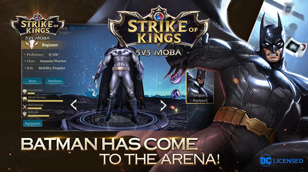 strike of kings batman