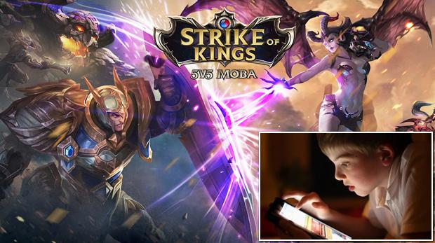 strike of kings menores