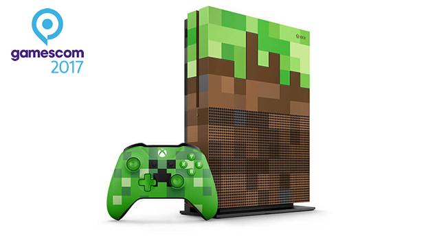 consola minecraft xbox one gamescom