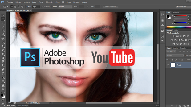 photoshop youtube tutoriales