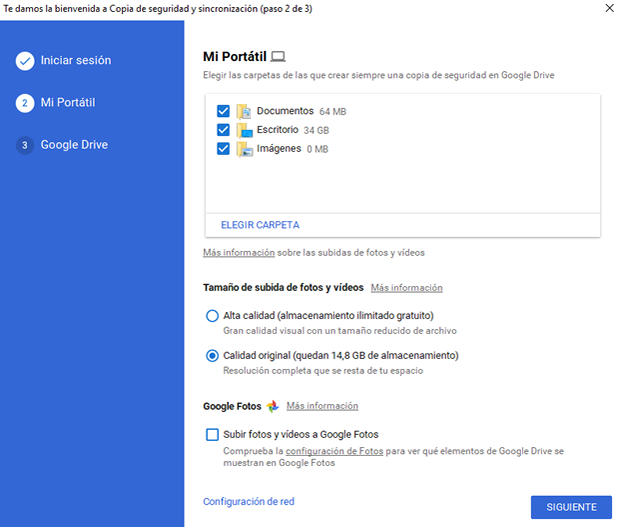 google backup synch