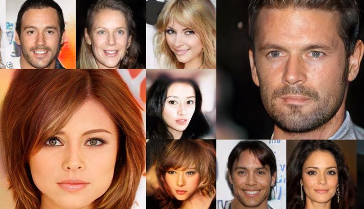 celebridades falsas