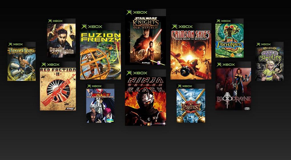 xbox juegos retro