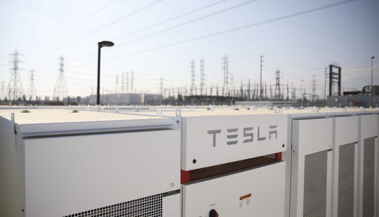 Tesla Inc. Powerpack Units At The Southern California Edison Mira Loma Substation