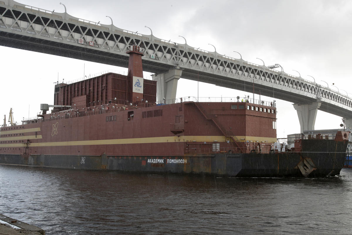 Russia Floating Nuclear Plant