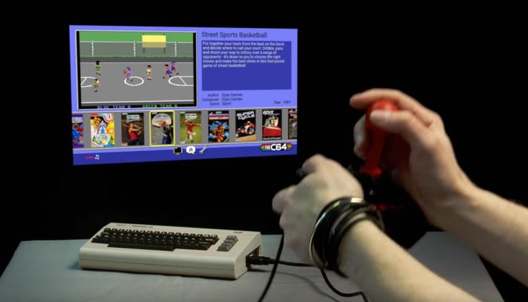 c64-mini-in-action