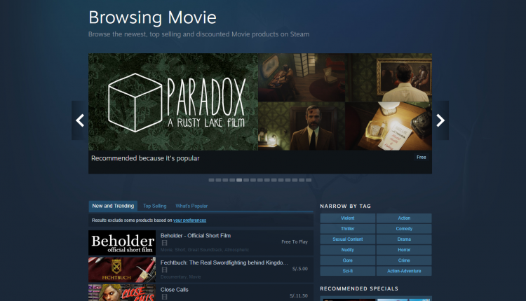 SteamVideo