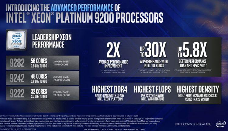 Intel-Xeon-Platinum-9200-Series-especificaciones