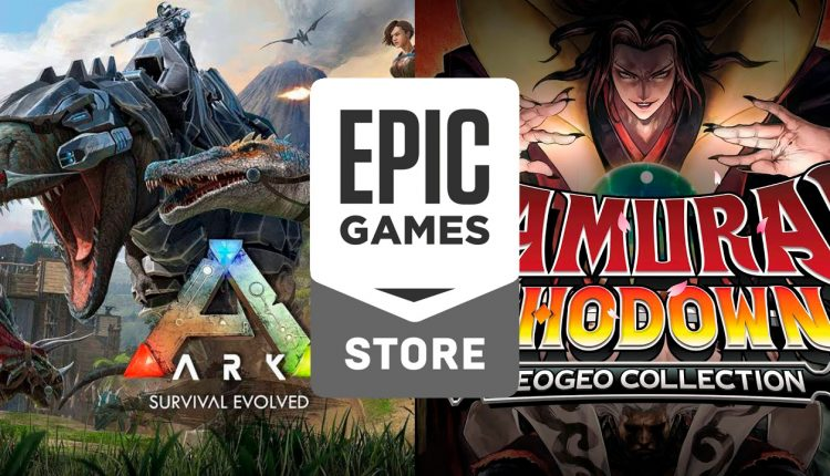 epic-games-store-Ark-survival-Evolved-y-Samurai-Shodown-Collection
