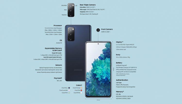 Galaxy-S20-FE-especificaciones