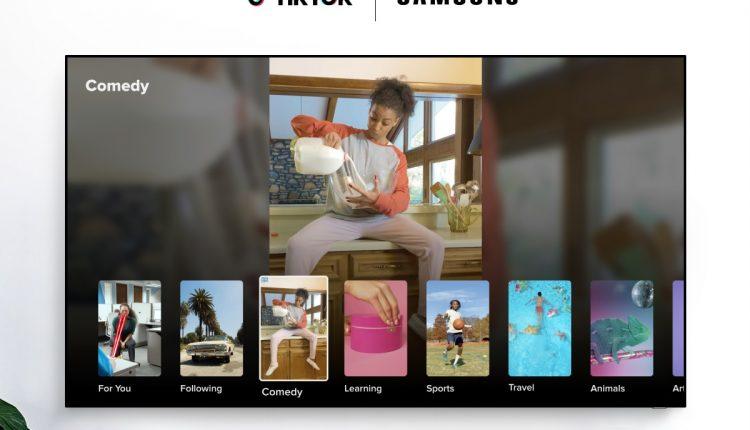 TikTok-Samsung-Smart-TV