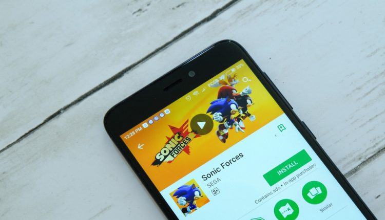 sonic-forces-juego-movil-shutterstock