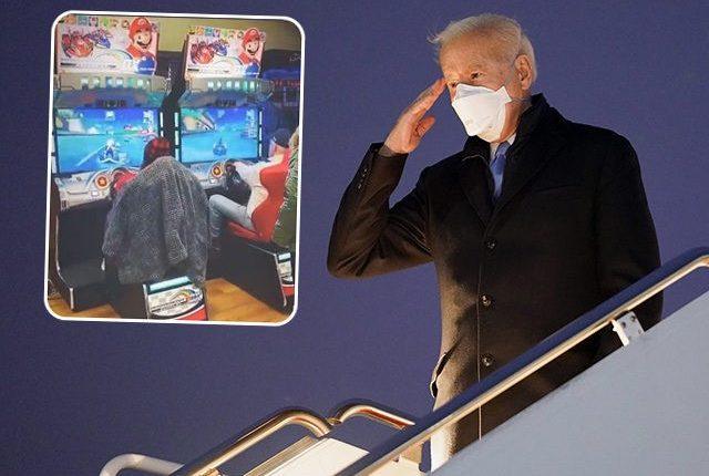 Joe-Biden-salute-and-Mario-Kart-inset-ap-instagram-640×480