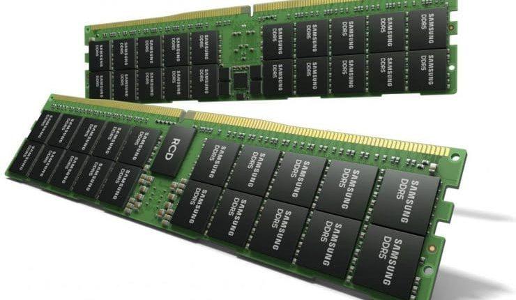 DRAM-Samsung-DDR5-740×497